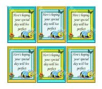 Bee Special Day Card Making Toppers x 6