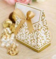 Gold Wedding Favour Box