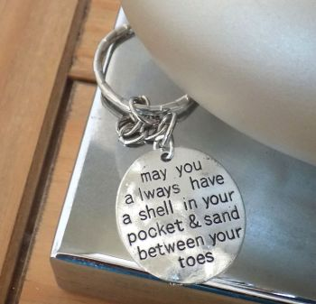 Inspiration Inspiring Quote Keyring