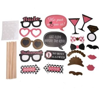 Hen Night Photo Booth Props