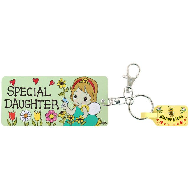 Special Daughter keyring gift