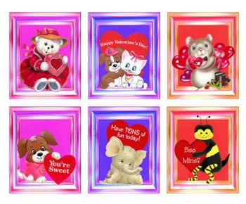 Valentines Card Making Toppers