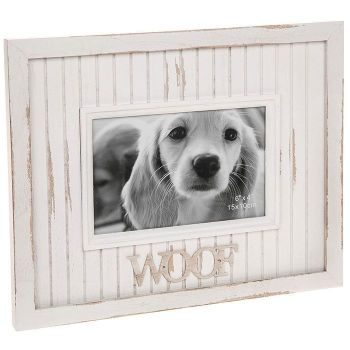 Dog Photo Frame Shabby Chic Design