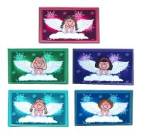 Christmas Angels Card Making Toppers - Brights