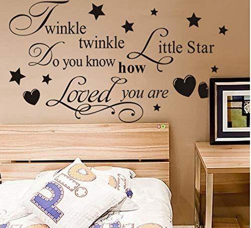Twinkle Twinkle Little Star Wall Art Sticker