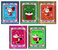 Santa Fun Christmas Card Making Toppers