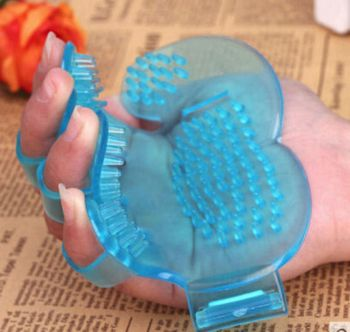 Blue Pet Dog Grooming Brush