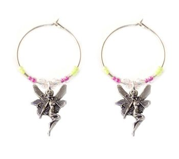 Fairy wine charms x 2