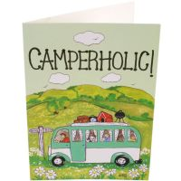 Camperholic! Card