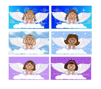 Angels Christmas Embellishments