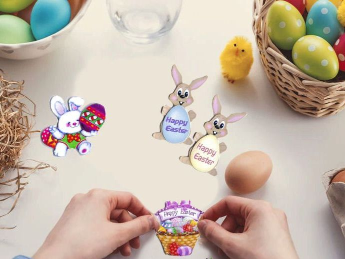 Easter craft supplies for sale at Tnako