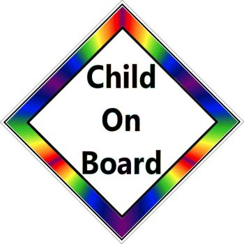 Car Sign - Child on Board