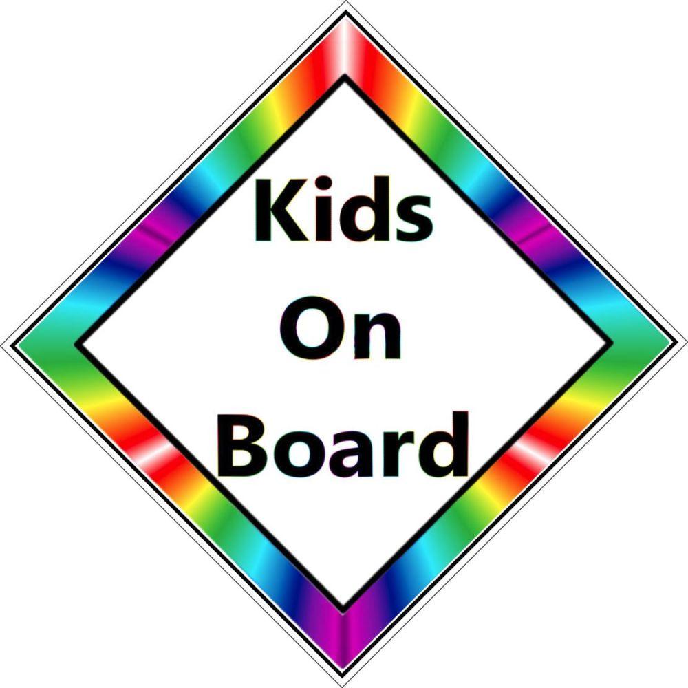 Car Sign - Kids on Board