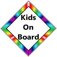 Car Sign - Kids on Board