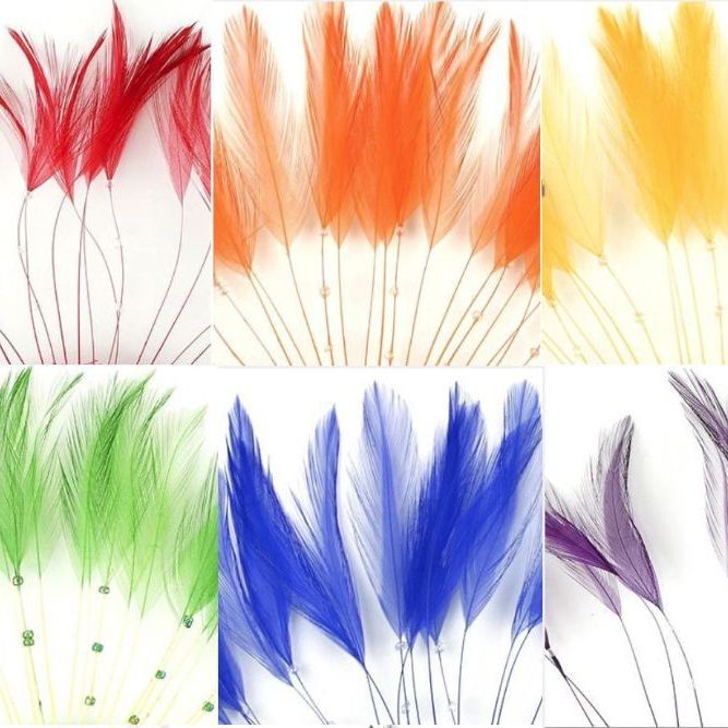 Rooster Hackle Feathers