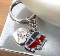 Happy Retirement Campervan Keyring