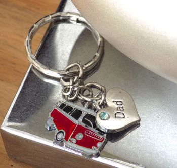 Dad Campervan Keyring