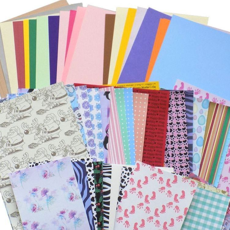 Craft Sets and Backing Papers