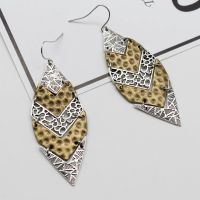 Silver and Gold Antique Vintage Drop Earrings