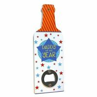 Bottle Opener Plaque - Daddy Of The Year