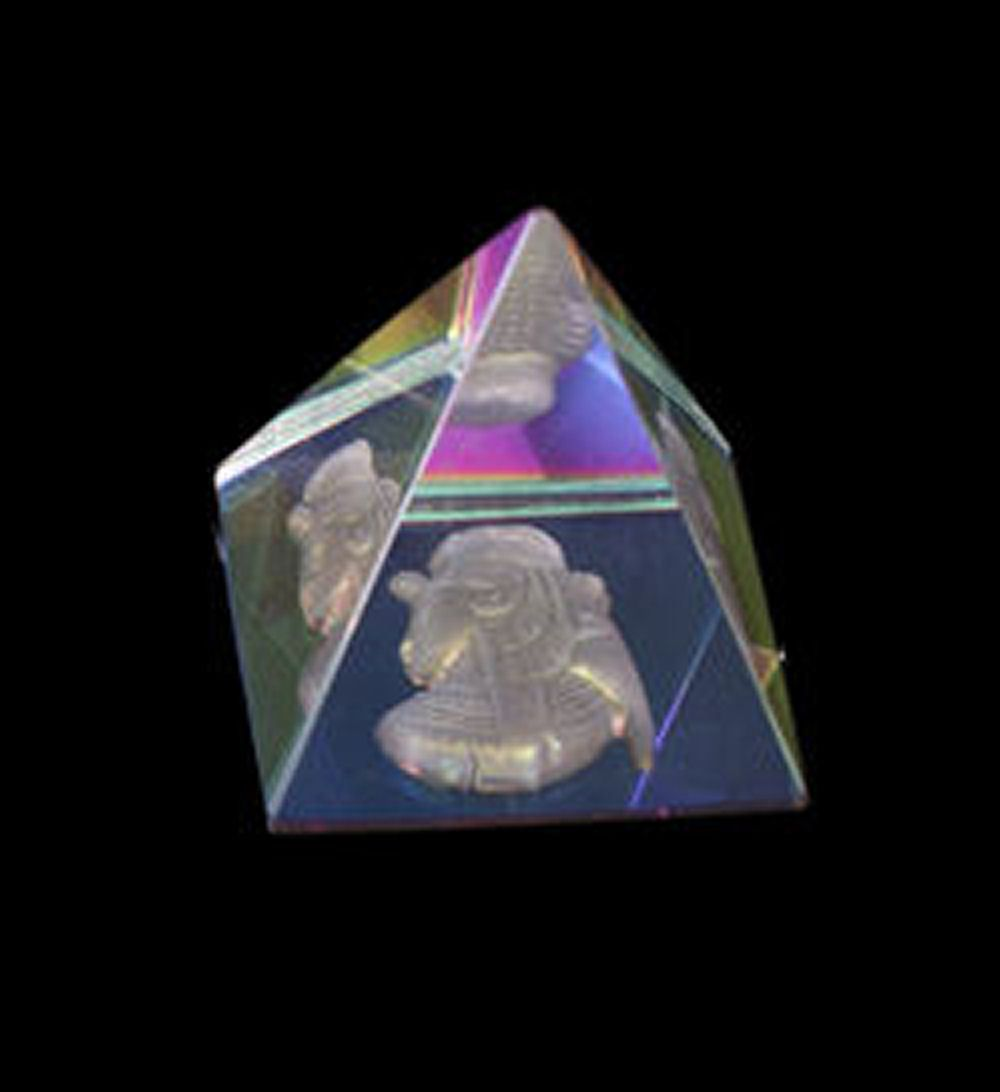 Crystal Egyptian Pyramid
