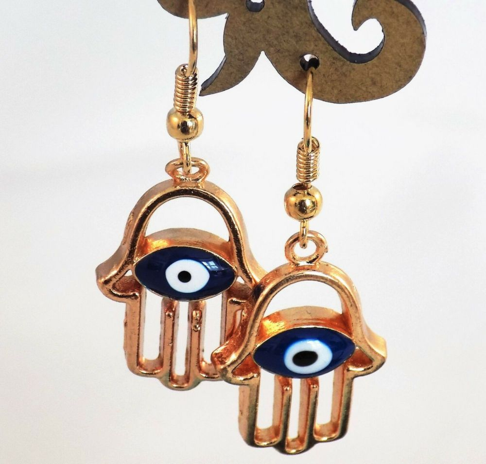Hamsa Hand Earrings
