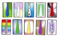 Mens Ties Card Making Toppers x 5