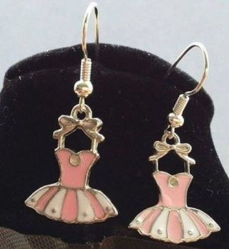 Ballet Dress Earrings