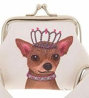 Dapper Dog Coin Purse Princess Dog