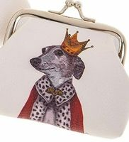 Dapper Dog Coin Purse King Dog