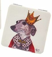 Dapper Dog Handbag Mirror King Dog