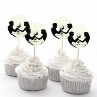 Wedding Anniversary Cupcake Cake Fairy Cake Toppers