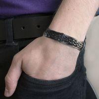 Men's Tribal Bracelet - Plaited Style