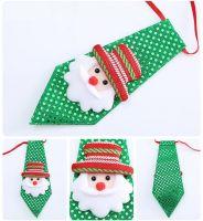 Santa Child's Christmas Novelty Sequin Tie