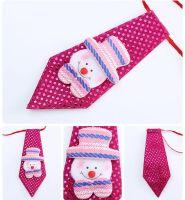 Snowman Child's Christmas Novelty Sequin Tie