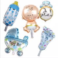 New Baby Foil Balloons It's A Boy x 5