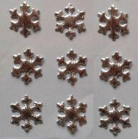 Christmas Snowflakes Silver