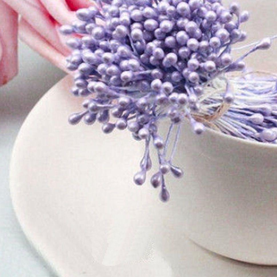 Pearl Flower Stamens - Lavender