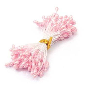 Pearl Flower Stamens - Light Pink