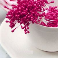 Pearl Flower Stamens - Shocking Pink
