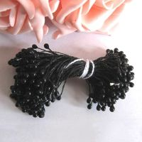 Pearl Flower Stamens - Black