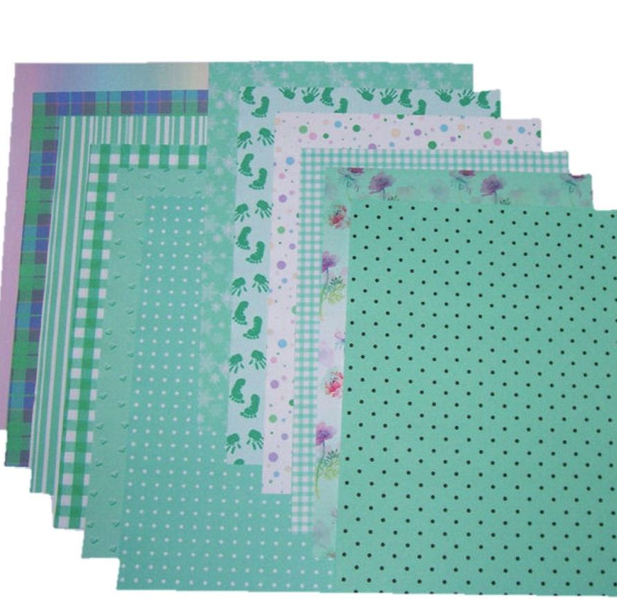 Green Craft A5 Papers Assorted Styles and Designs