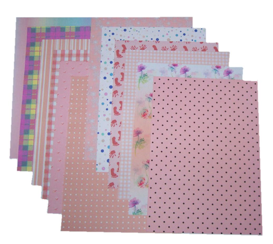 Peach Craft A5 Papers Assorted Styles and Designs
