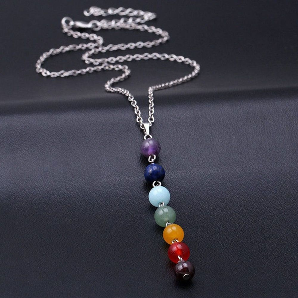 Chakra Balancing Pendant Necklace