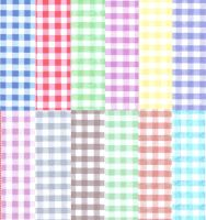 Gingham Mixed Shades Card Making A5 Backing Papers