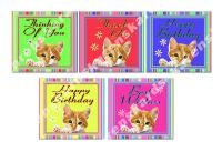 Cat Craft Toppers for Card Making