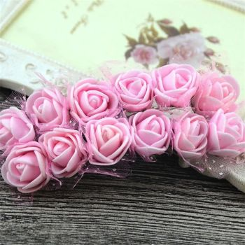 Artificial Roses Flowers - Pink