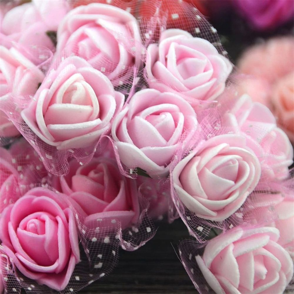 Artificial Roses Flowers - Light Pink