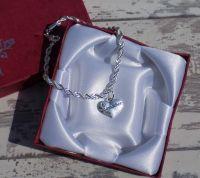 Godmother Christening Silver Charm Bracelet