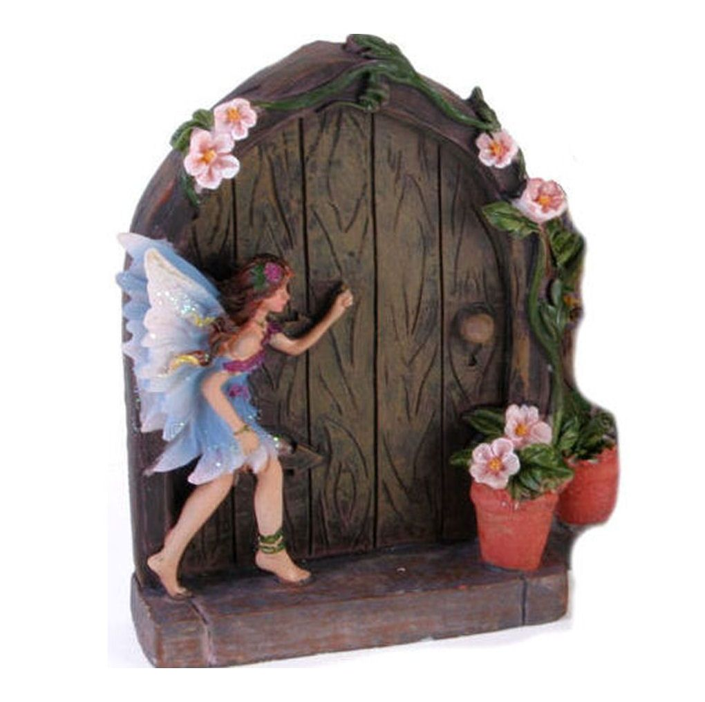 Fairy Door with Blue Fairy